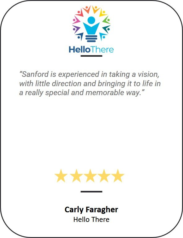 5 star testimonial from Hello There