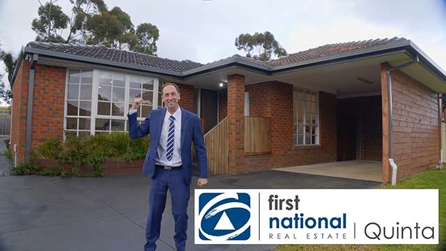 Trevor Pickens from First National Quinta presenting a home for sale